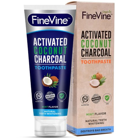 100% Natural Charcoal Teeth
