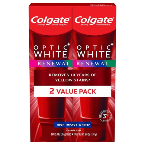 Colgate Optic White Renewal Teeth