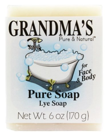 Grandma's Pure Lye Soap Bar