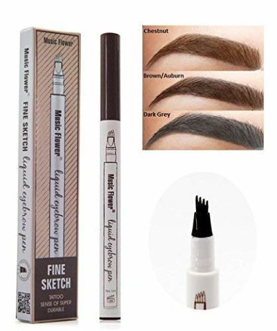 2 Pcs Tattoo Eyebrow Pen